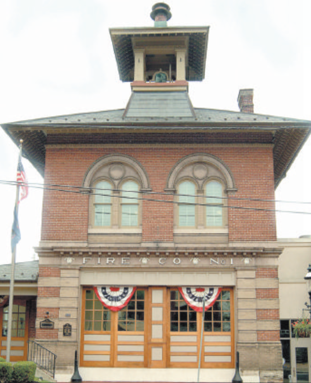 Doylestown Firehouse, photograph by Mark Markgraff